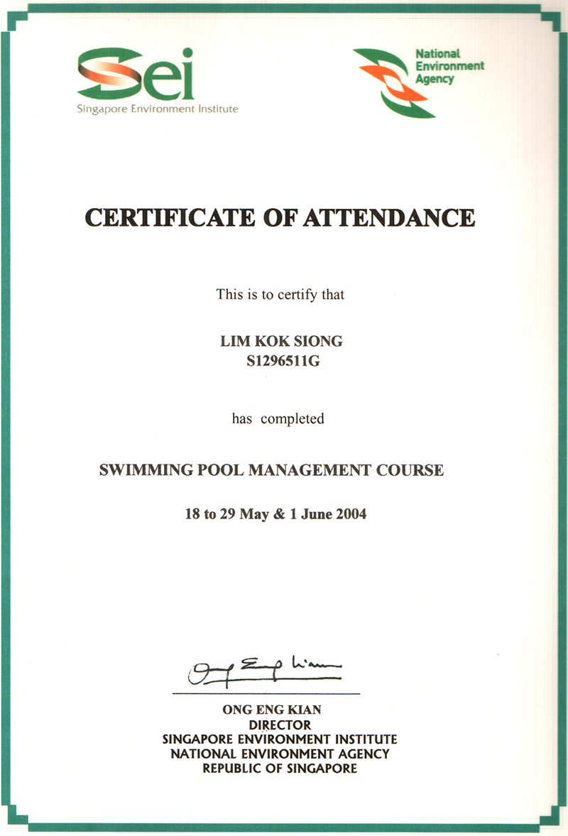 Certificate About