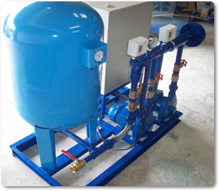 Water Pressure Booster System Water Pressure Booster System